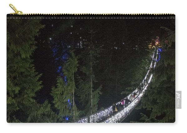 Christmas At Capilano Suspension Bridge Carry-all Pouch