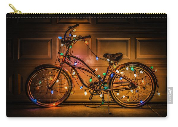 Christmas Bike Carry-all Pouch
