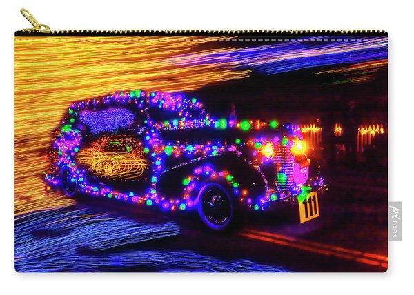 Christmas Car Carry-all Pouch