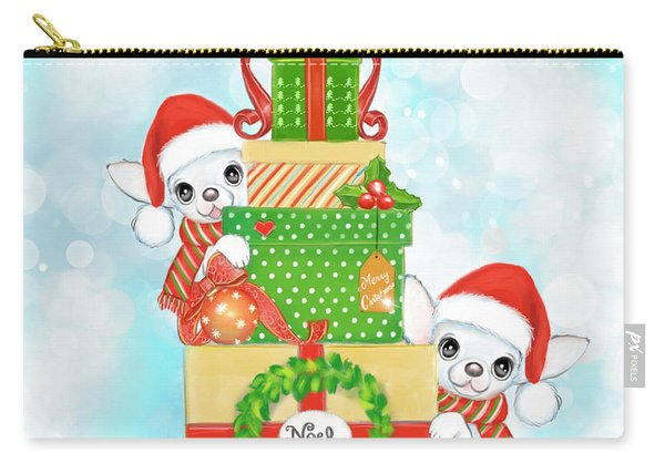 Christmas Chi Elves Carry-all Pouch