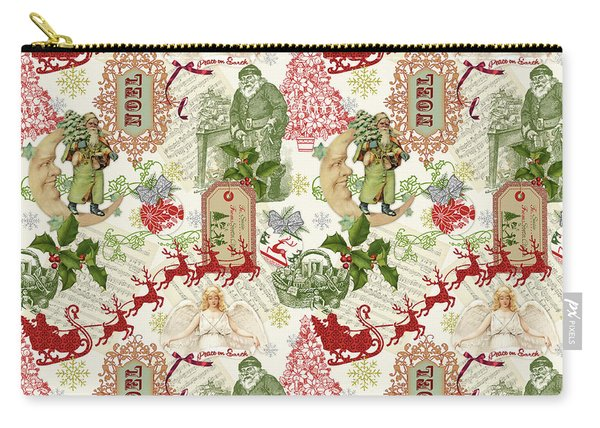 Christmas Folklore-d Carry-all Pouch