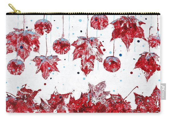 Christmas Decorations Of Nature Carry-all Pouch