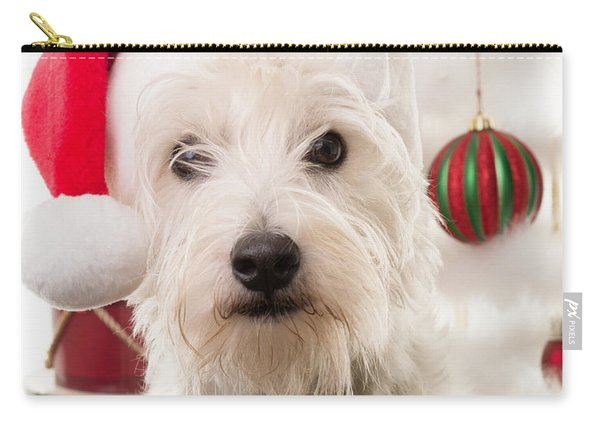 Christmas Elf Dog Carry-all Pouch
