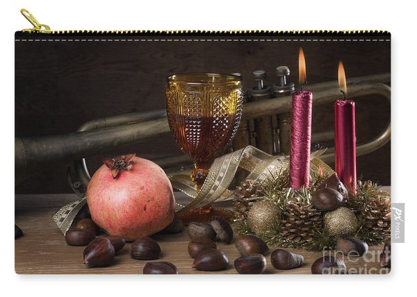 Christmas Fall Still-life Carry-all Pouch