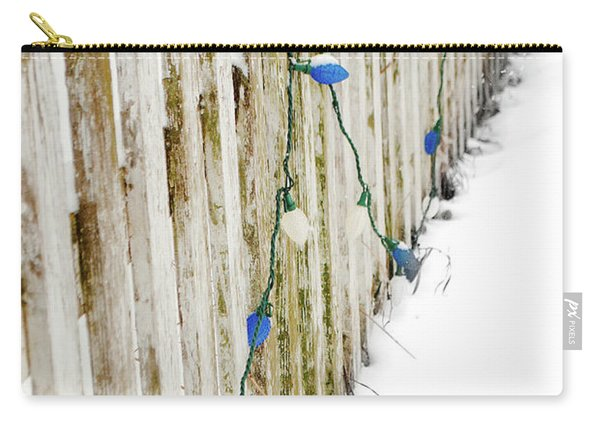 Christmas Fence Carry-all Pouch