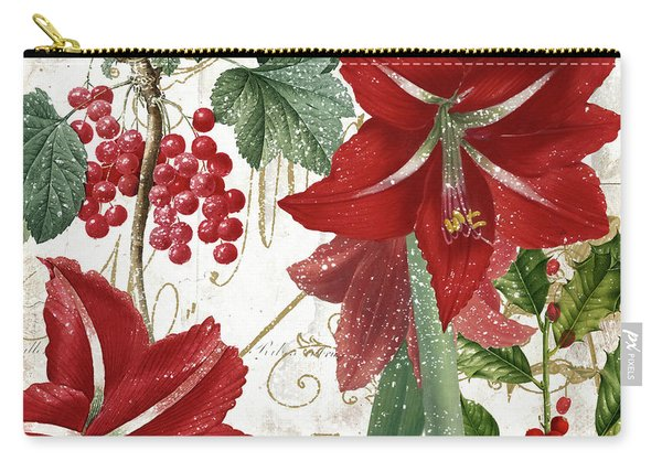 Christmas In Paris II Carry-all Pouch