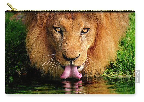 Christmas Lion Carry-all Pouch
