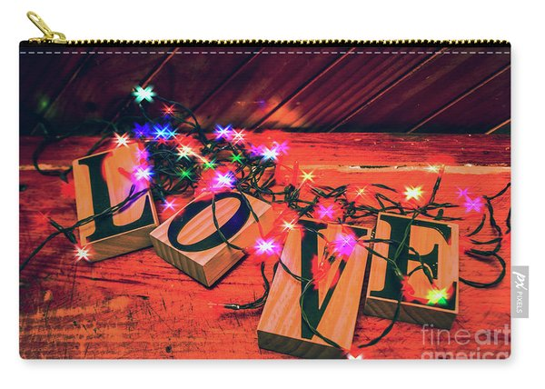 Christmas Love Decoration Carry-all Pouch