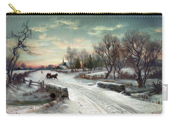 Christmas Morn, C1885 Carry-all Pouch