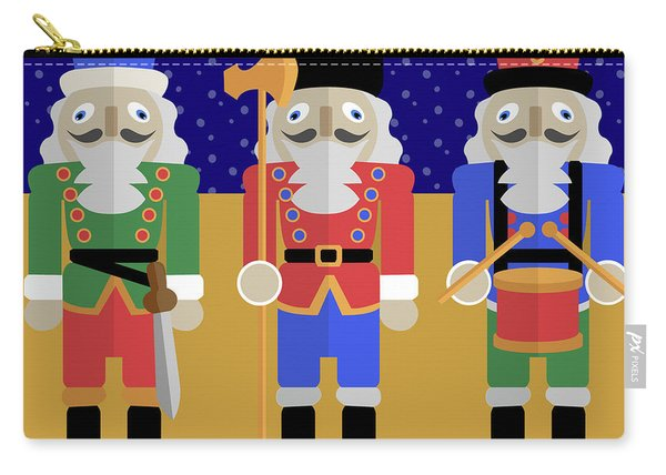 Christmas Nutcrackers  Carry-all Pouch