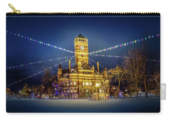 Christmas On The Square 2 Carry-all Pouch