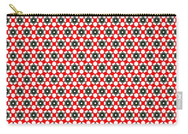 Christmas Paper Pattern Carry-all Pouch