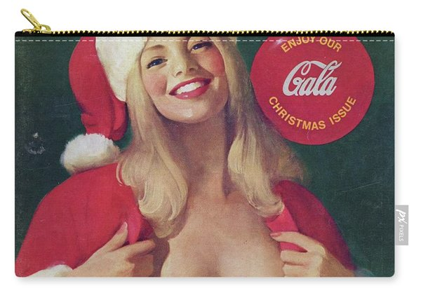 Christmas Playboy Vintage Cover Carry-all Pouch