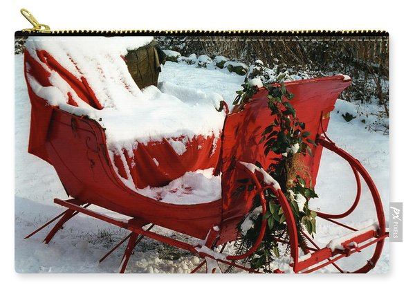 Christmas Sleigh Carry-all Pouch