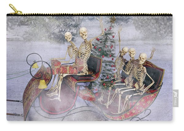 Christmas Spirits Heading To Topsail Island Nc Carry-all Pouch