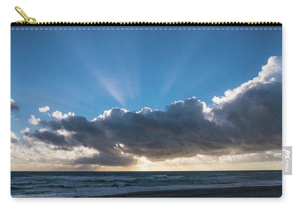 Christmas Sunrise Delray Beach Florida Carry-all Pouch