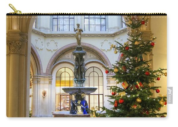 Christmas Tree In Ferstel Passage Vienna Carry-all Pouch
