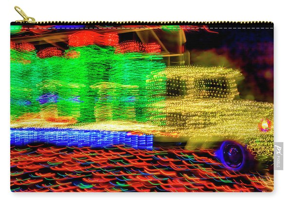 Christmas Truck Abstract Carry-all Pouch