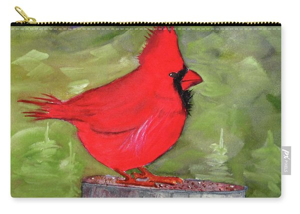 Christopher Cardinal Carry-all Pouch
