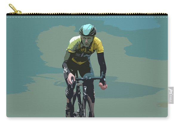 Christopher Froome Digital Art Carry-all Pouch