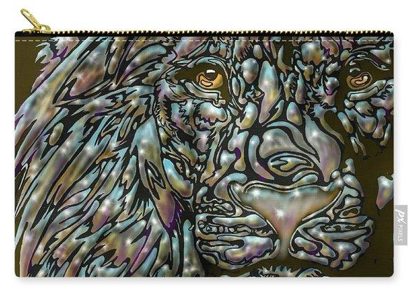Chrome Lion Carry-all Pouch