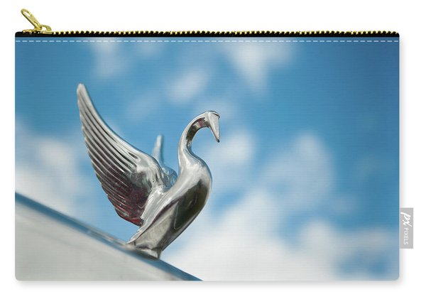 Chrome Swan Carry-all Pouch