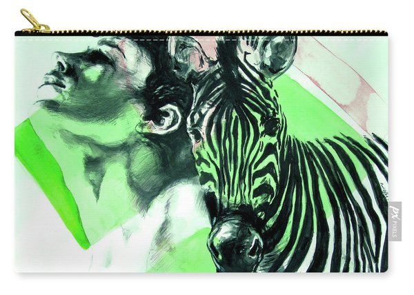 Chronickles Of Zebra Boy   Carry-all Pouch