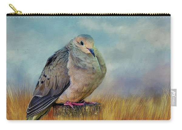 Chubby Dove Carry-all Pouch