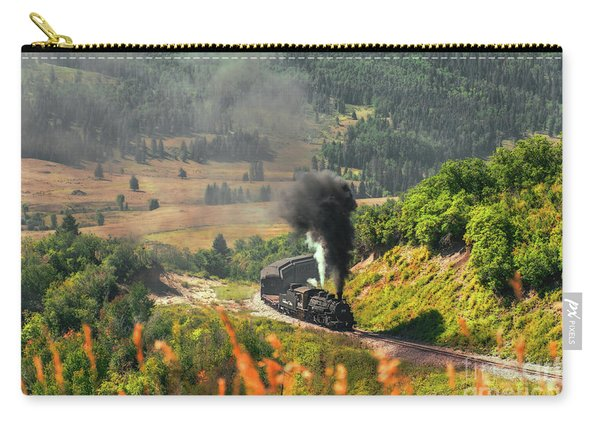 Carry-all Pouch featuring the photograph Engine 484 by Susan Warren