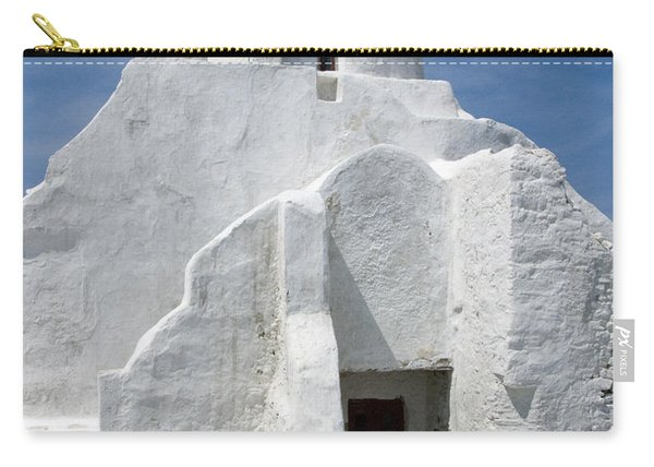 Church In Mykonos Carry-all Pouch