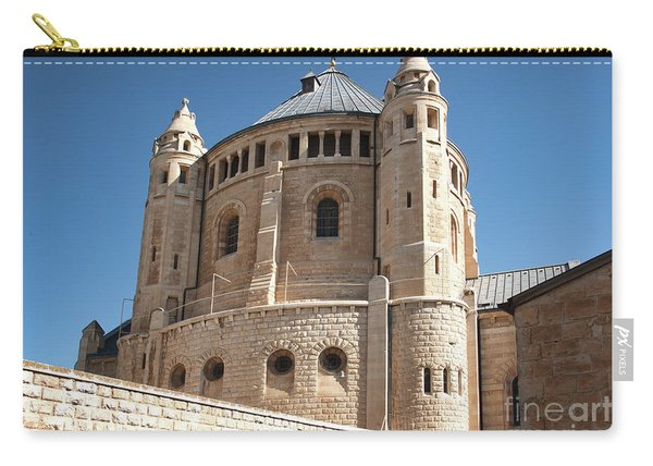 Carry-all Pouch featuring the photograph Church Of The Dormition by Mae Wertz