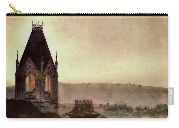 Church Steeple 4 For Cup Carry-all Pouch