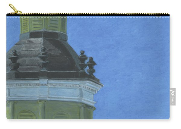 Church Steeple With Seagull Carry-all Pouch