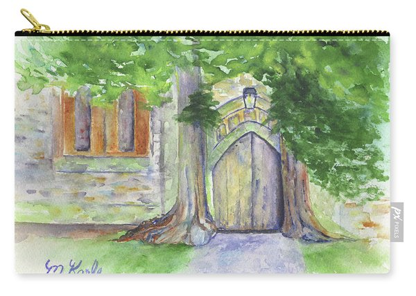 Church Trees Carry-all Pouch