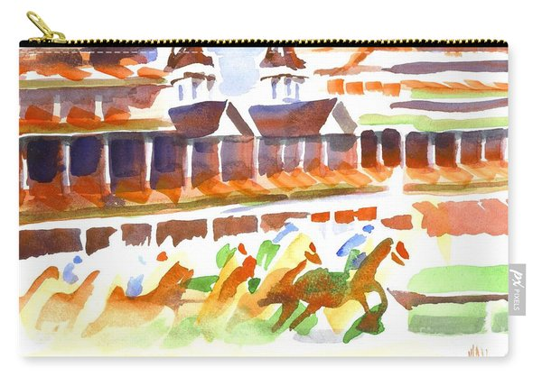 Churchill Downs Watercolor Carry-all Pouch