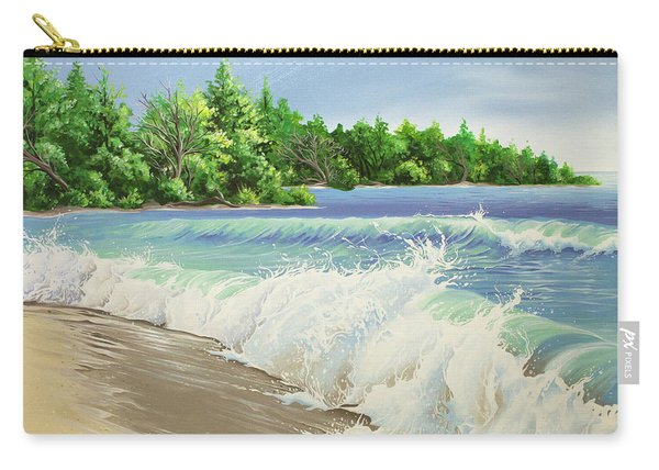 Churning Sand  Carry-all Pouch