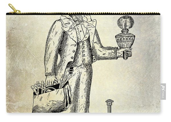 Cigar Lighter Patent 1886  Carry-all Pouch