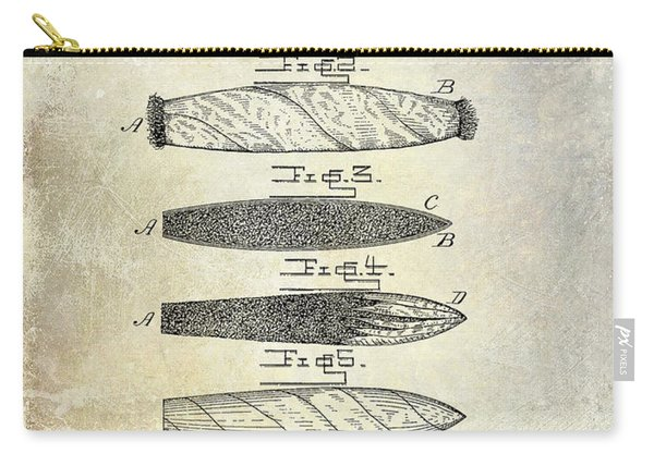 Cigar Patent 1887  Carry-all Pouch