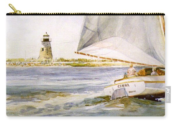 Cimba At Bird Island Light Carry-all Pouch
