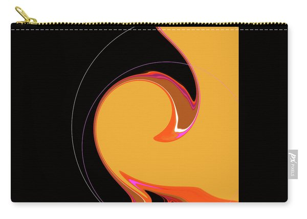 Carry-all Pouch featuring the digital art Summer Chic 1960 by Gina Harrison