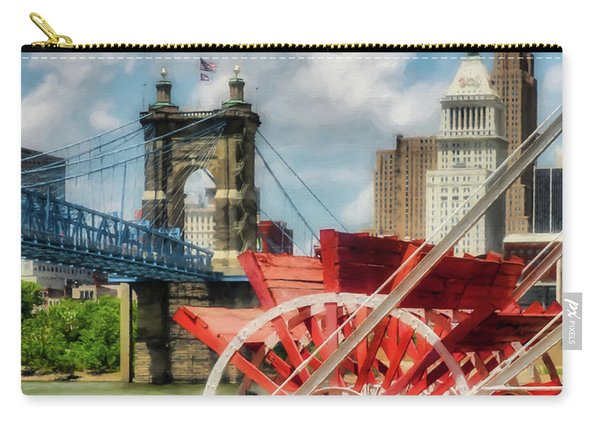 Cincinnati Landmarks 1 Carry-all Pouch