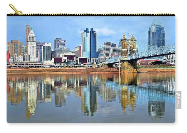 Cincinnati Ohio Times Two Carry-all Pouch