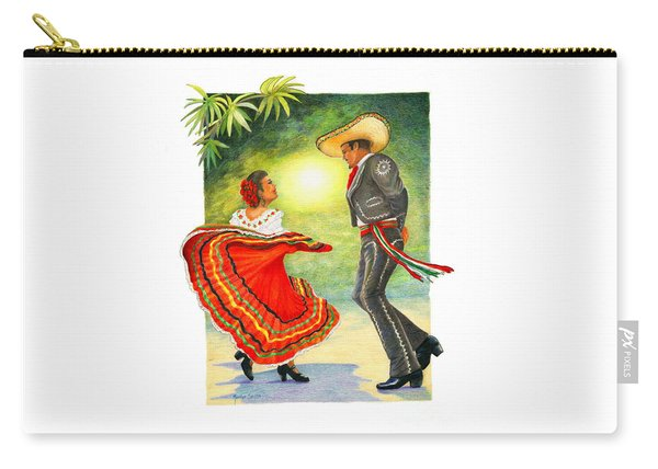 Cinco De Mayo Dancers Carry-all Pouch