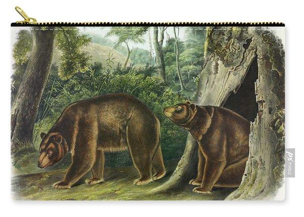 Cinnamon Bear Carry-all Pouch