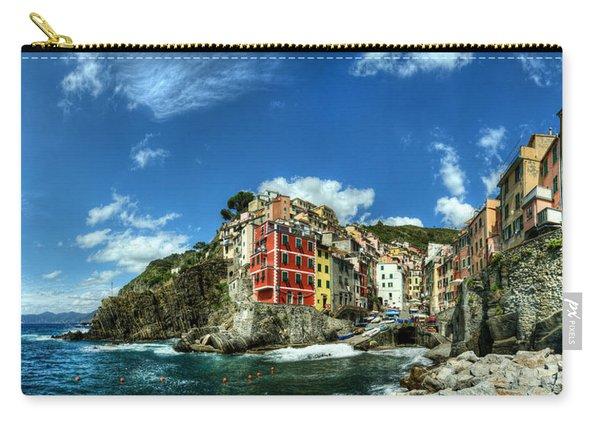 Cinque Terre - View Of Riomaggiore Carry-all Pouch