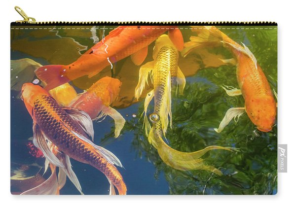 Circle Of Koi Carry-all Pouch