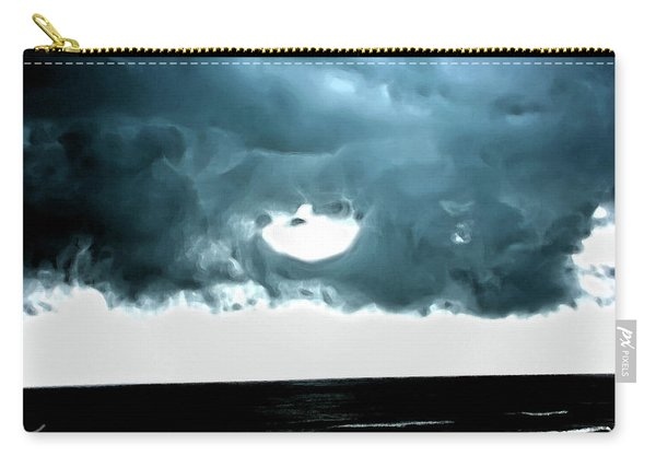 Circle Of Storm Clouds Carry-all Pouch