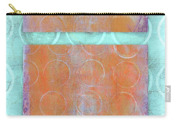 Circles And Rectangles Abstract  Carry-all Pouch