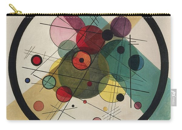 Circles In A Circle Carry-all Pouch