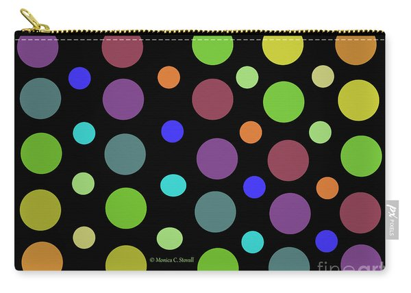 Circles N Dots C21 Carry-all Pouch